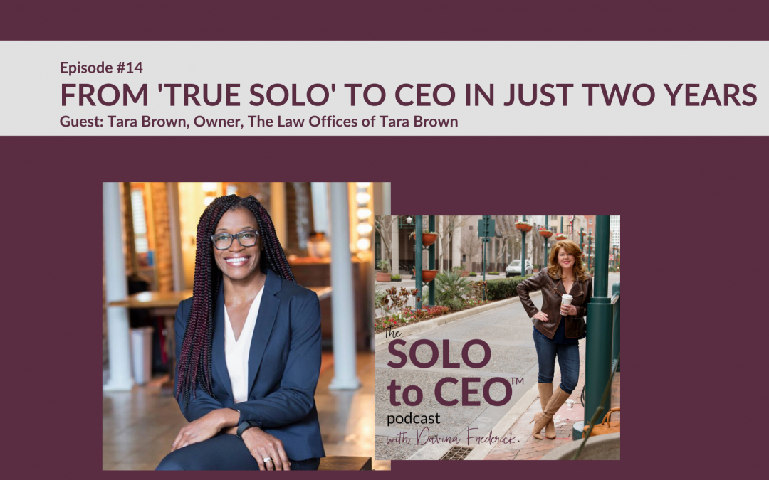 Tara Brown | From 'True Solo' to CEO in Just Two Years