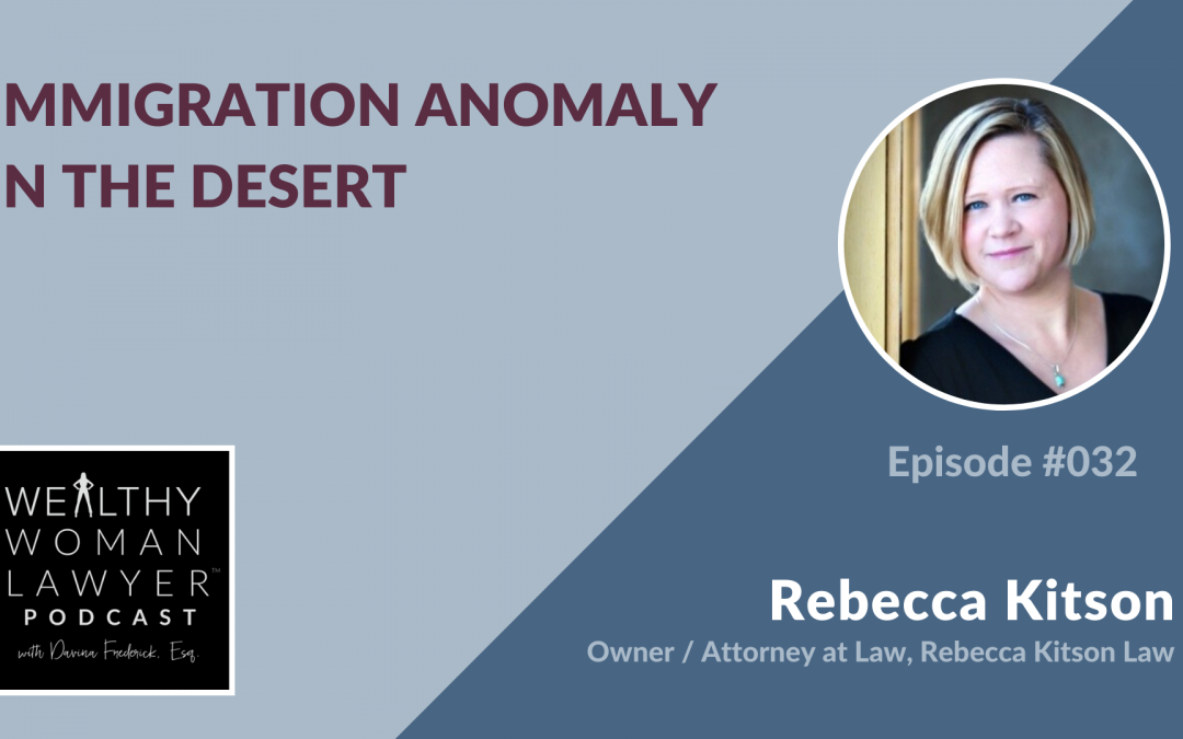 Rebecca Kitson | Immigration Anomaly in the Desert