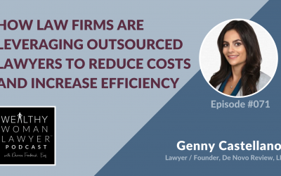 Genny Castellanos | How Law Firms are Leveraging Outsourced Lawyers to Reduce Costs and Increase Efficiency